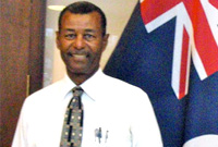 Mr. Waldo Hilton Parchment Sr. Serjeant-at-Arms of the Legislative Assembly of the Cayman Islands (2010)