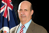 Hon Anthony S. Eden OBE, JP, First Elected Member for Bodden Town