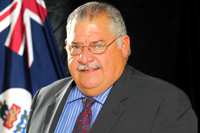 Hon Kurt Tibbetts JP, First elected member for George Town