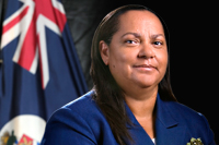 Hon Julianna O'Connor-Connolly JP, First Elected Member for Cayman Brac and Little Cayman