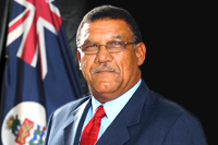 Hon Arden McLean, Member for East End