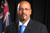 Hon. Bernie Alfredo Bush, Elected Member for West Bay North