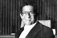 Mr. Sibert R. Watler - The first Serjeant-At-Arms of the Legislative Assembly of the Cayman Islands (1974 - 1986)