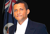 Mr. Javin Jacob Powery, Serjeant-at-Arms of the Legislative Assembly of the Cayman Islands (2005-2008)